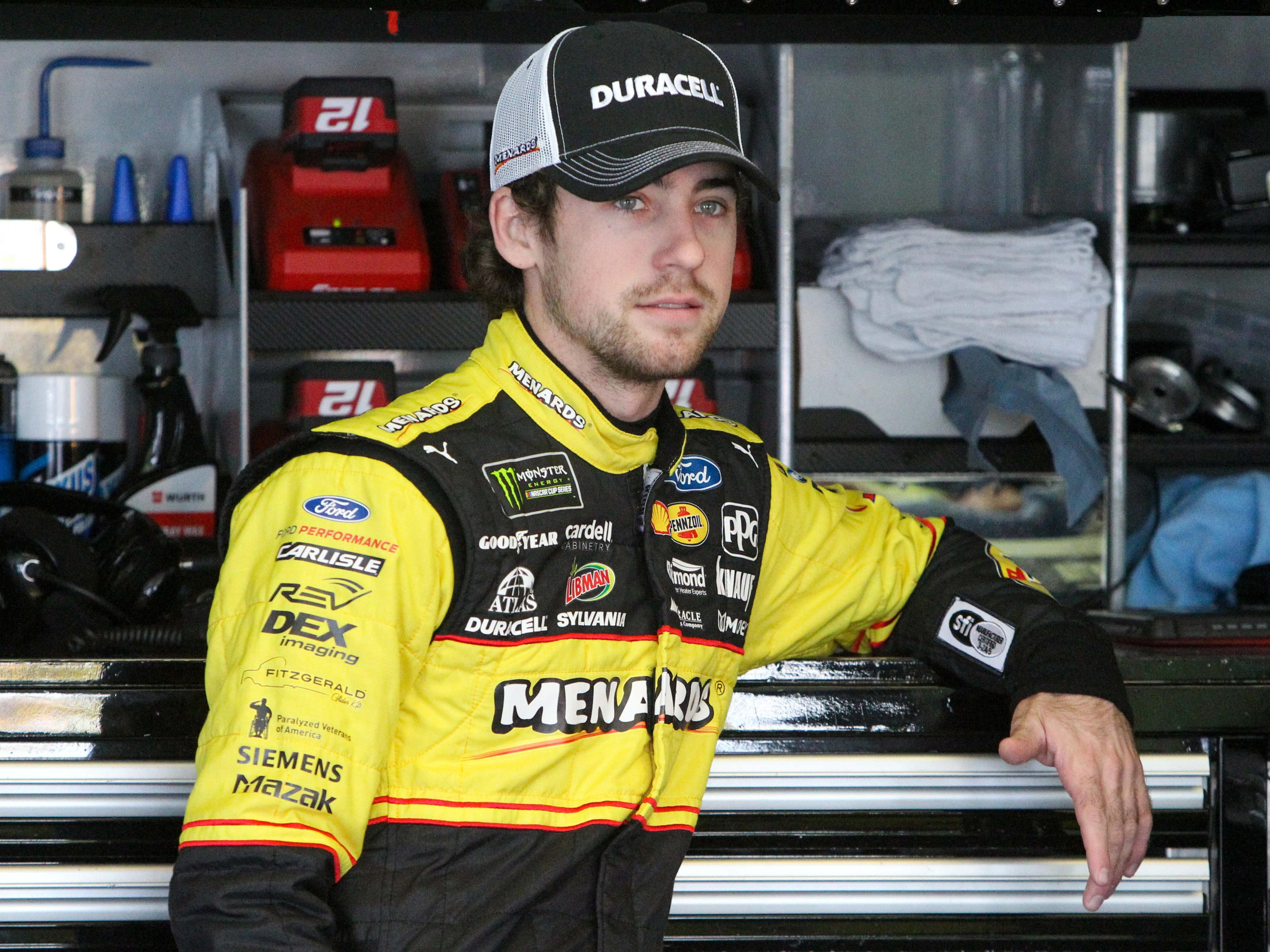 10. Ryan Blaney, 2,298 points (eliminated from playoffs after Race No. 6 at Kansas).