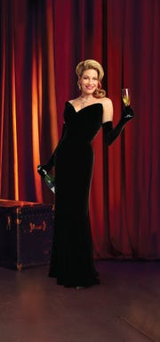 Marin Mazzie in character as Helen Sinclair in the Broadway production of 'Bullets over Broadway.'