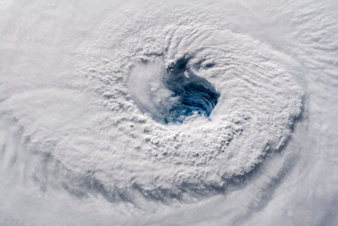 Hurricane Florence from space