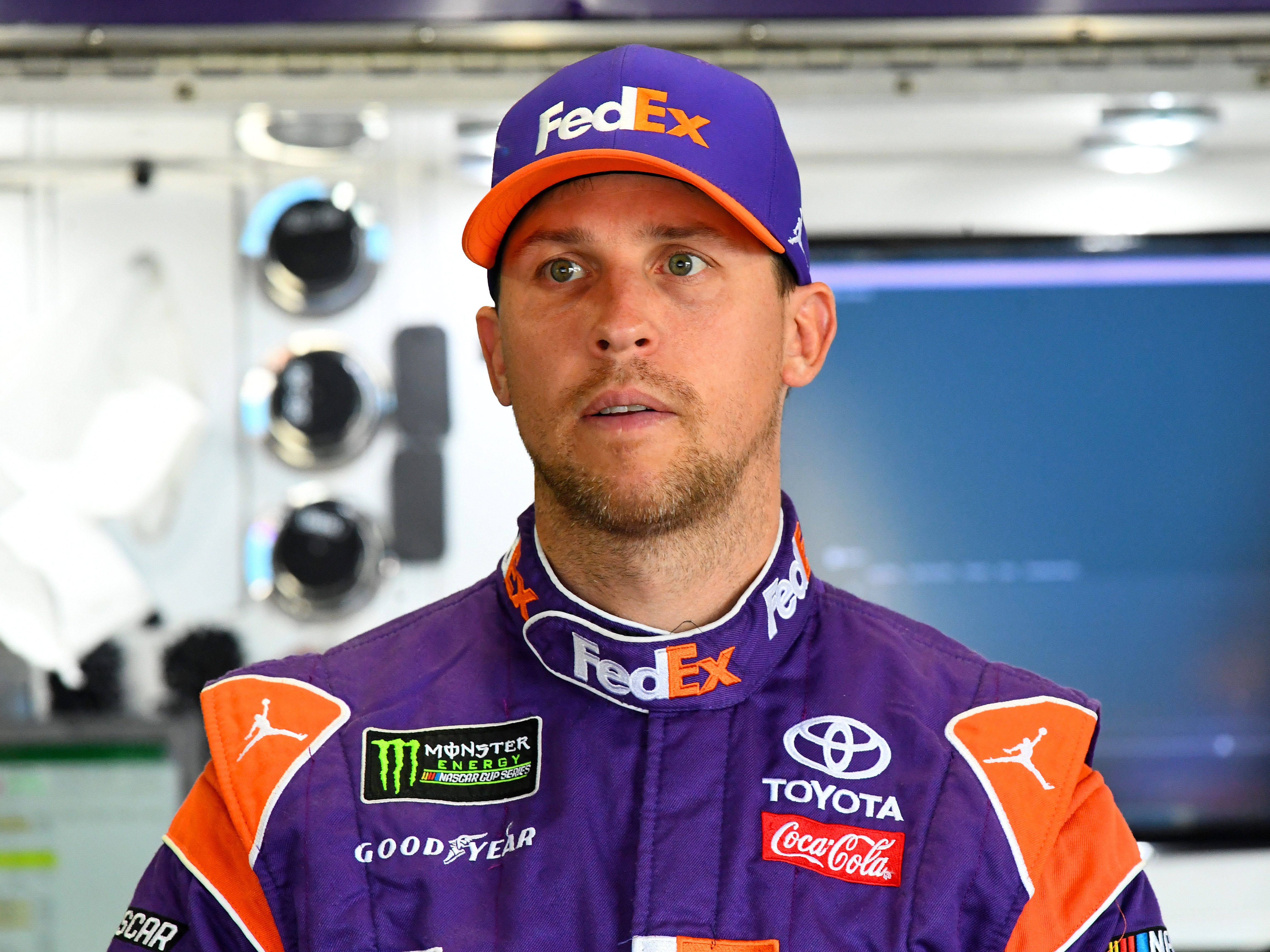 11. Denny Hamlin, 2,285 points  (eliminated from playoffs after Race No. 3 at Charlotte).