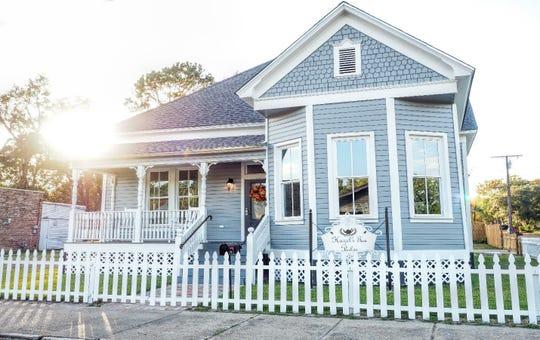 Hazel's Tea Parlor in Leesville.