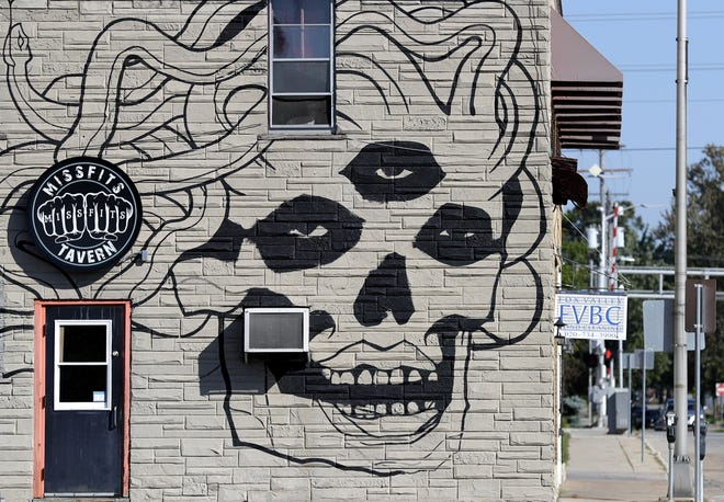 The mural on the side of Missfits Tavern at 317 N. Appleton St. in Appleton has drawn wide-ranging reactions. Wm. Glasheen/USA TODAY NETWORK-Wisconsin