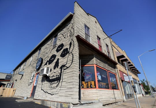 The mural at Missfits Tavern in Appleton has been drawing considerable attention from the public. Wm. Glasheen/USA TODAY NETWORK-Wisconsin