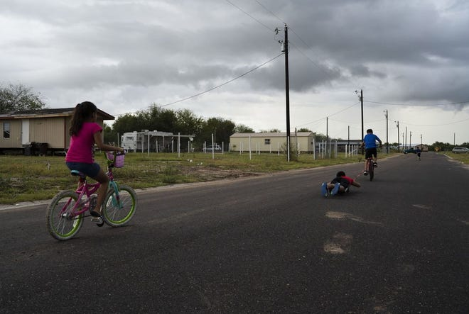 A neighborhood in the Rio Grande Valley city of Mission, near the U.S.-Mexico border.