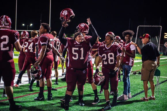 The Cougars defeated North Henderson 50-14 on Friday