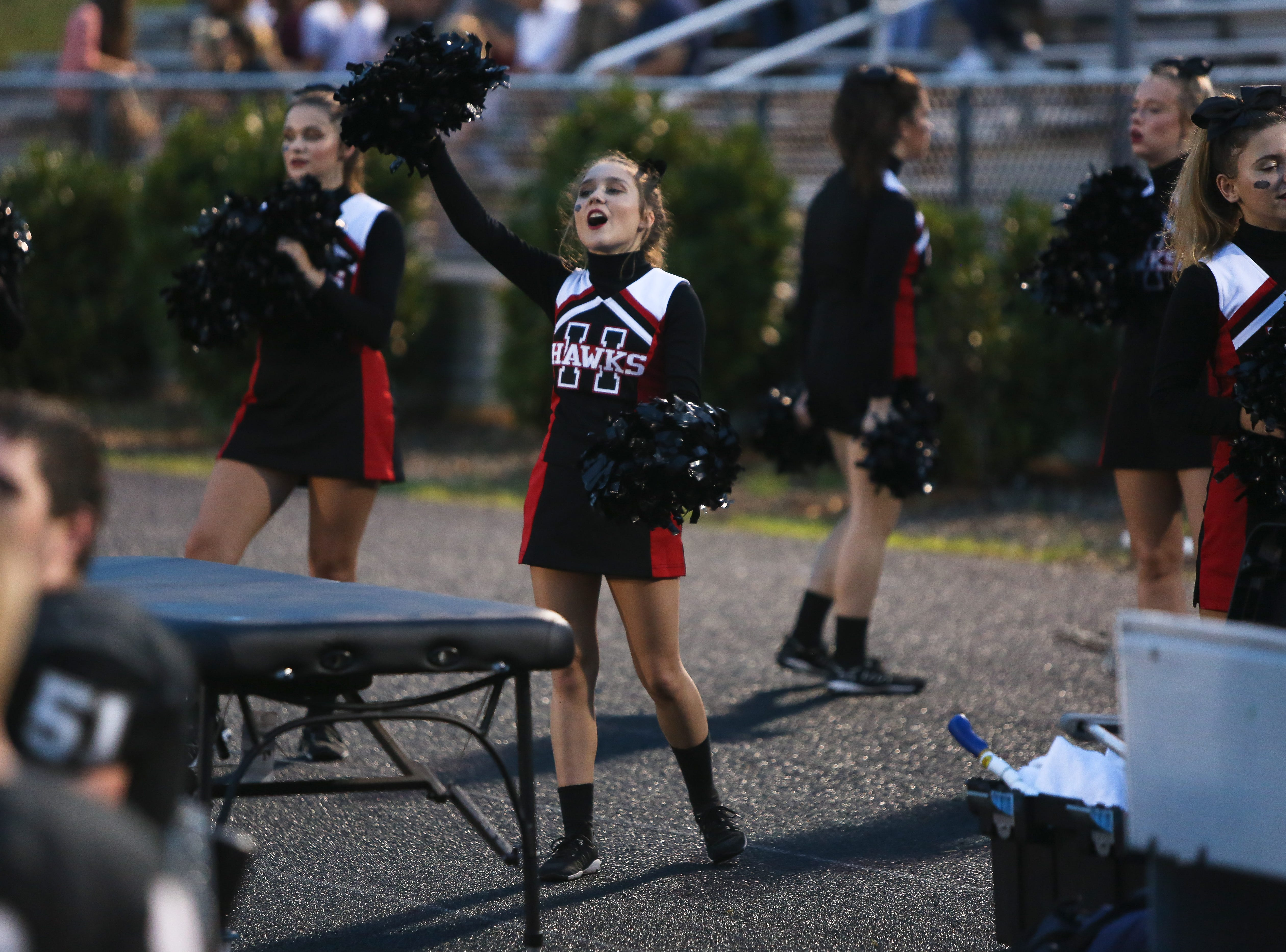North Buncombe defeated Roberson 40-14 Sept. 13, 2018, at North Buncombe.