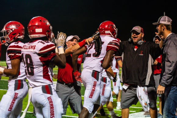 Erwin defeated North Buncombe 36-8 on Friday night.
