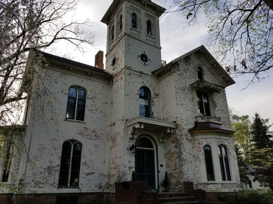 The Cronin house before it was restored.