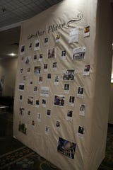 "An ""Our Place"" board at Friday morning's Young Professional Summit highlighted the famous former residents of Binghamton."