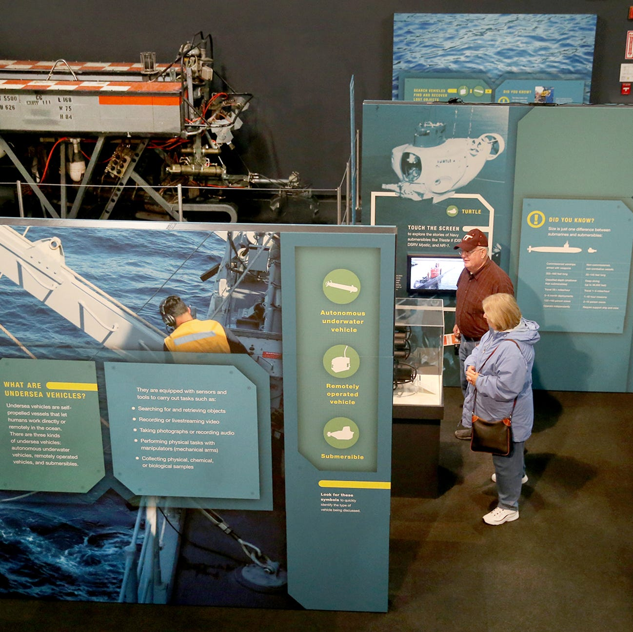 New Keyport exhibit takes a deep dive into the history of the Navy's undersea vehicles