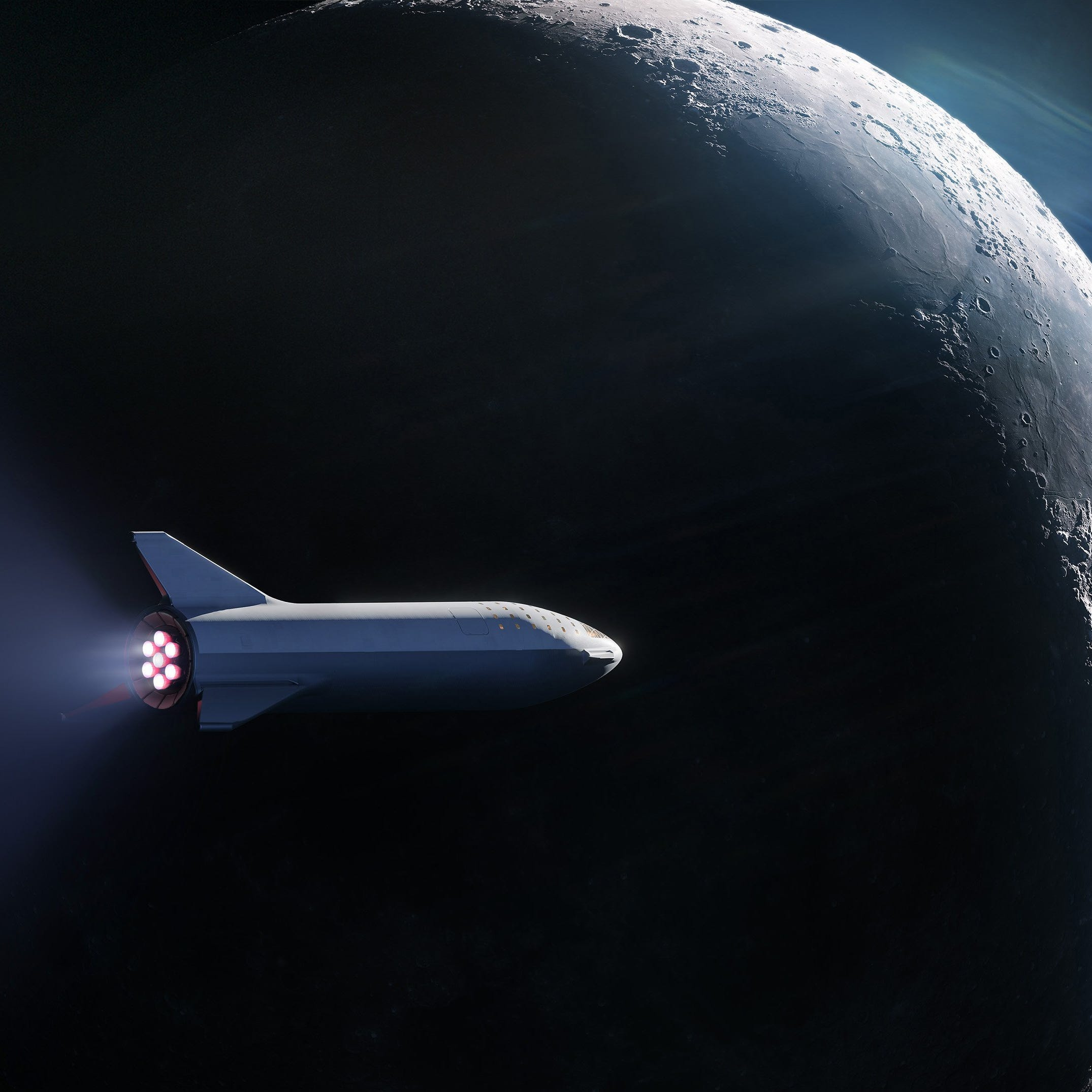 Watch SpaceX announce who will launch on its BFR vehicle to the moon