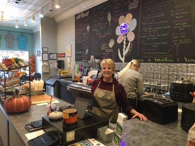 Bucyrus resident Diana Shroll has opened Fit Fab Fun offering wraps, smoothies, a salad bar, a boutique and yoga classes at 209 S. Sandusky Ave.