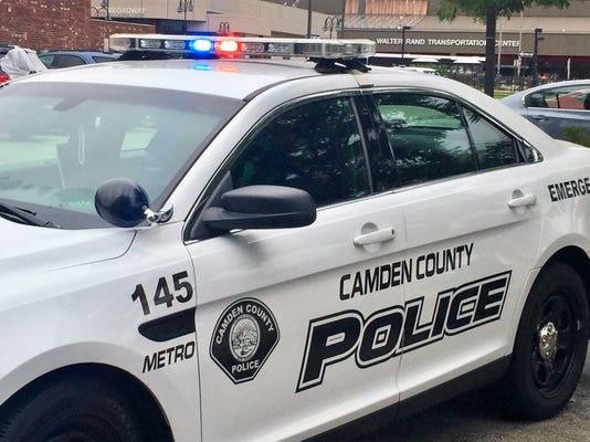 Camden County police car