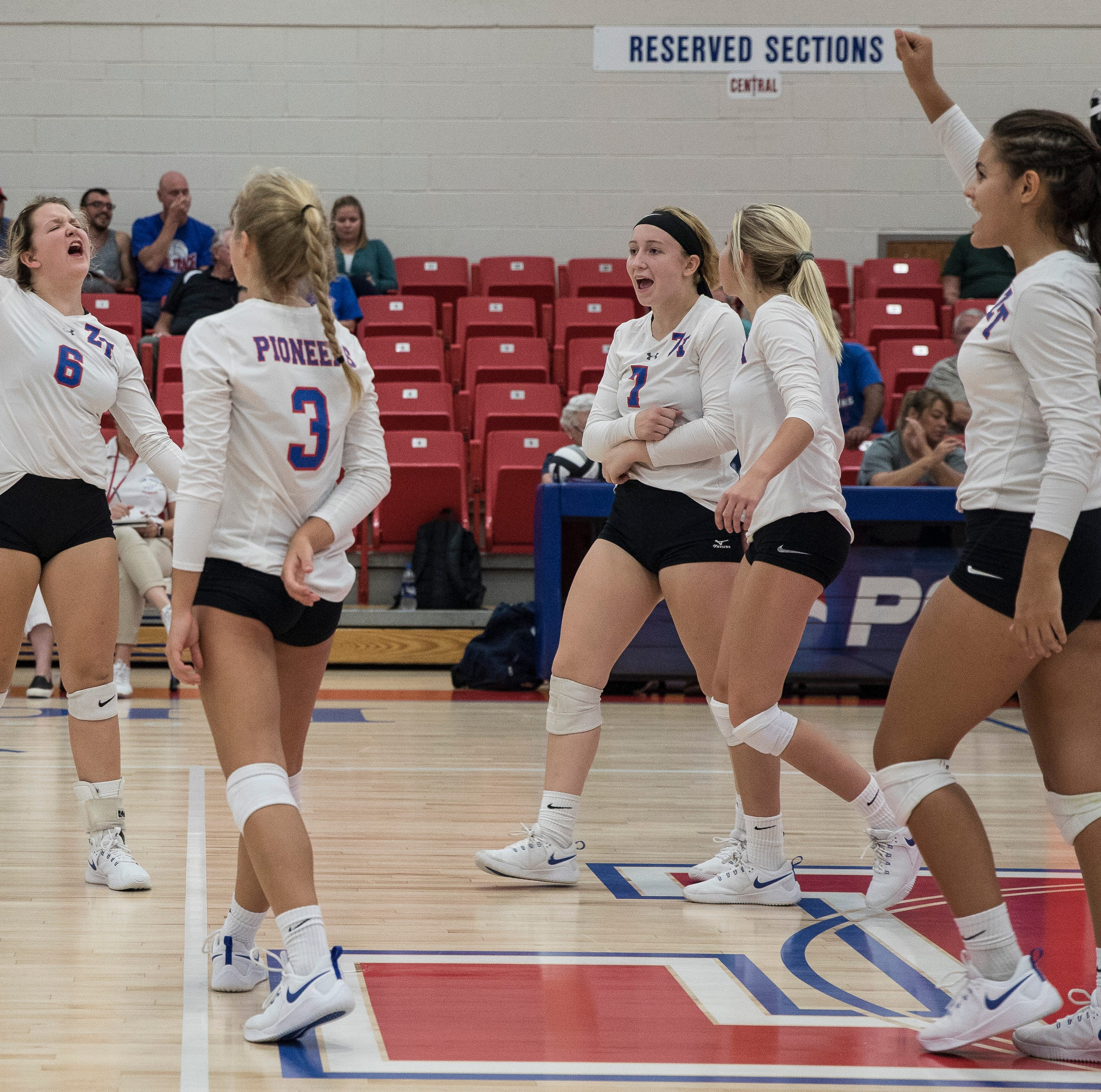 HS VOLLEYBALL: Zane Trace upsets Unioto in five sets, improves to 13-3 on the year