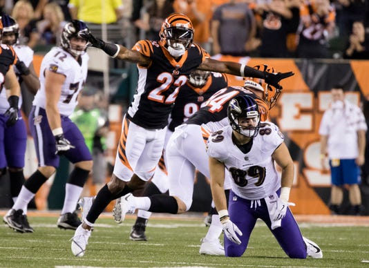 Nfl Baltimore Ravens At Cincinnati Bengals