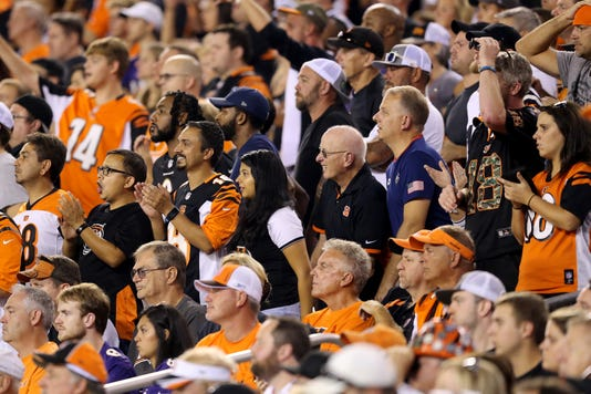 Baltimore Ravens Vs Cincinnati Bengals Sept 13