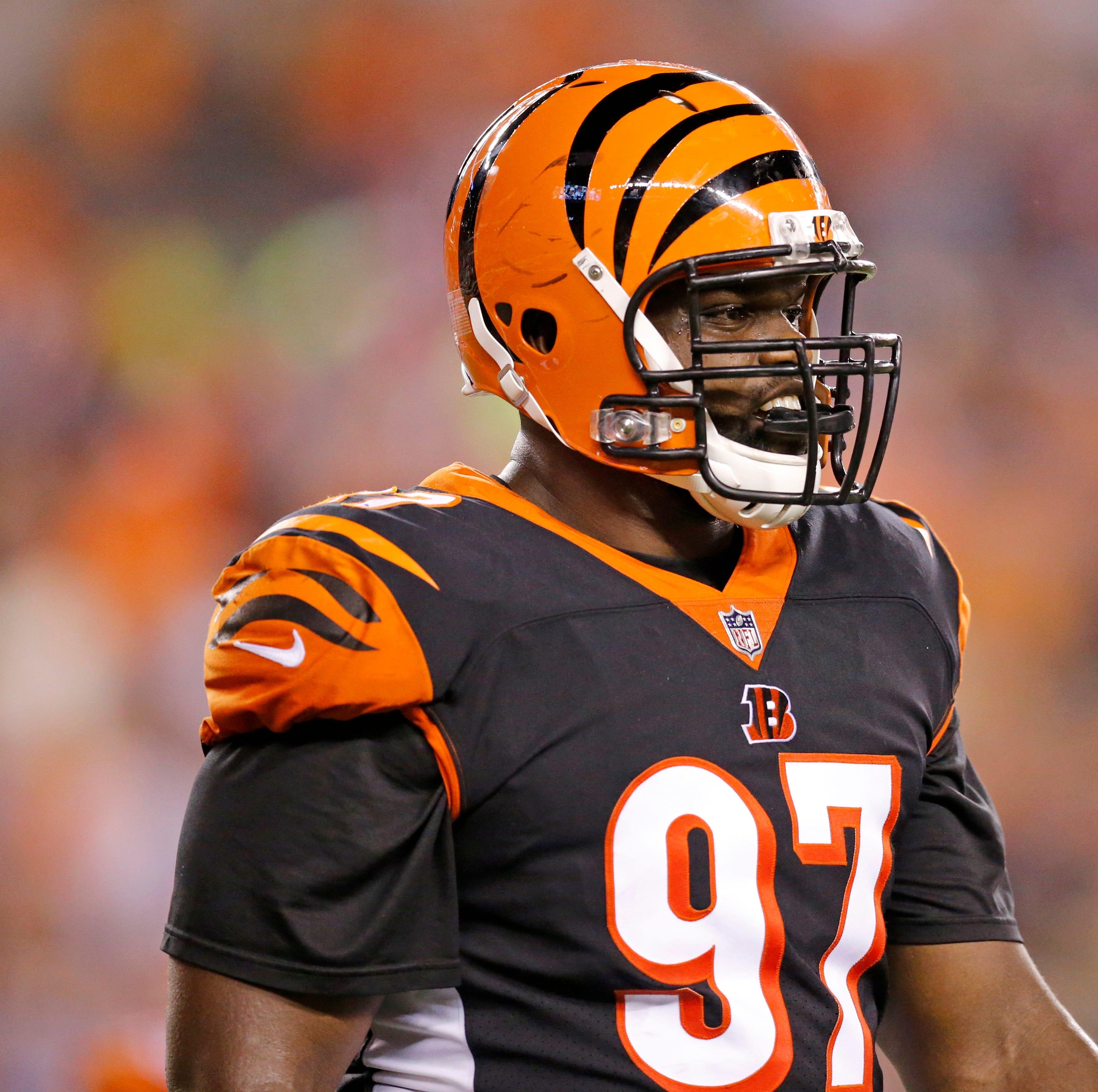 Cincinnati Bengals defensive tackle Geno Atkins...