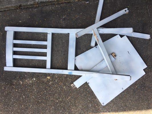 Oneill Broken Chair