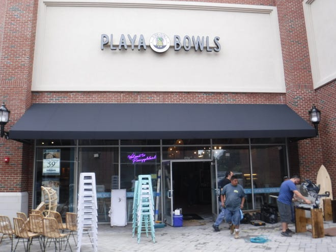 Playa Bowls in East Brunswick will hold its grand opening on Saturday, Sept. 15.
