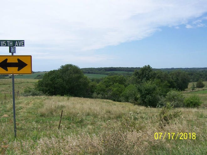 Indianola's proposed sewage treatment plant would be located near the center of the horizon in this image.