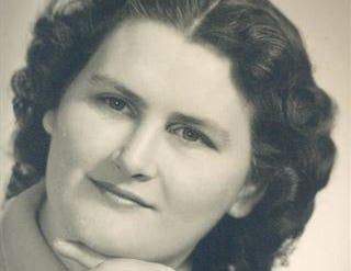 Shirley Jo Gardener, 1955.