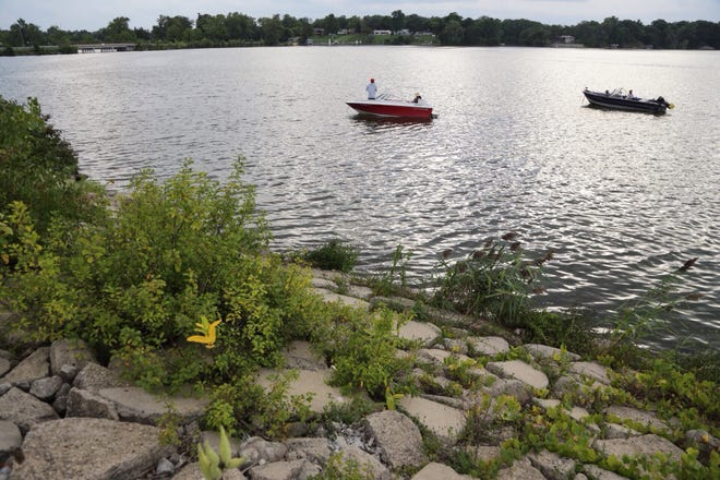 Health officials are warning residents to stay out of Belleville Lake after blue-green algae was discovered in water samples.
