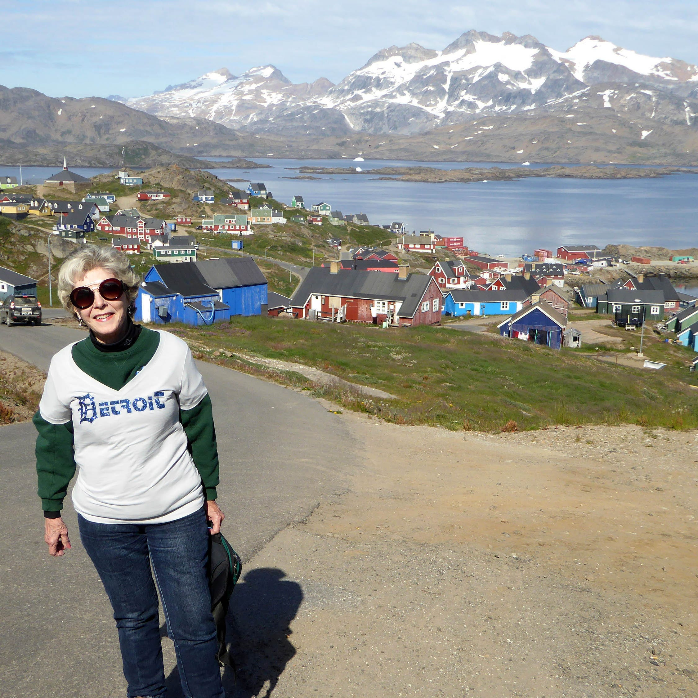 Travel with the D to Greenland