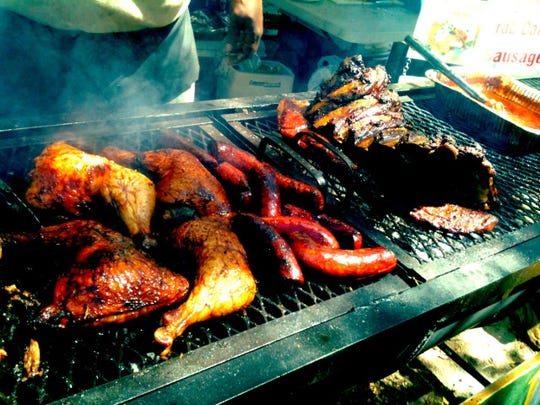 From smoked turkey legs to veggie kebabs, there's something for everyone at the Festival.