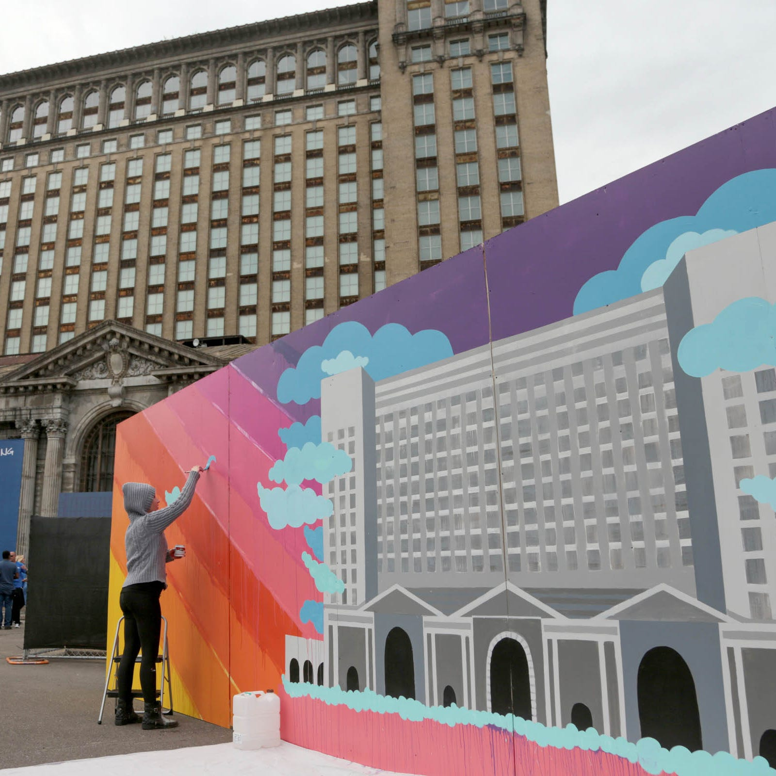 Residents hand Ford their wish list for Corktown-area improvements