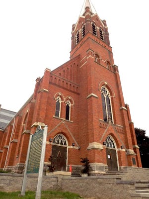 The Detroit Mass Mob will visit St. Damien of Molokai Parish in Pontiac on Sept. 16  2018.  The parish includes St. Vincent de Paul church on Woodward Avenue, where the mass will be held.