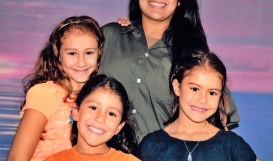 """Cindy Shank and her daughters in """"The Sentence."""""""