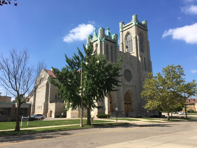 St. Mary Cathedral in downtown Lansing