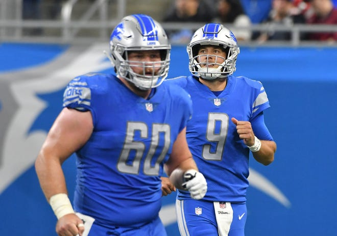 Quarterback Matthew Stafford and the Lions will look to bounce back in Week 2 against the 49ers.