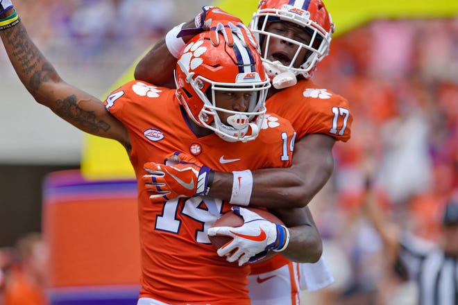 Clemson has moved up the start time of Saturday's game against Georgia Southern to noon EST from the original 3:30 p.m. kickoff.
