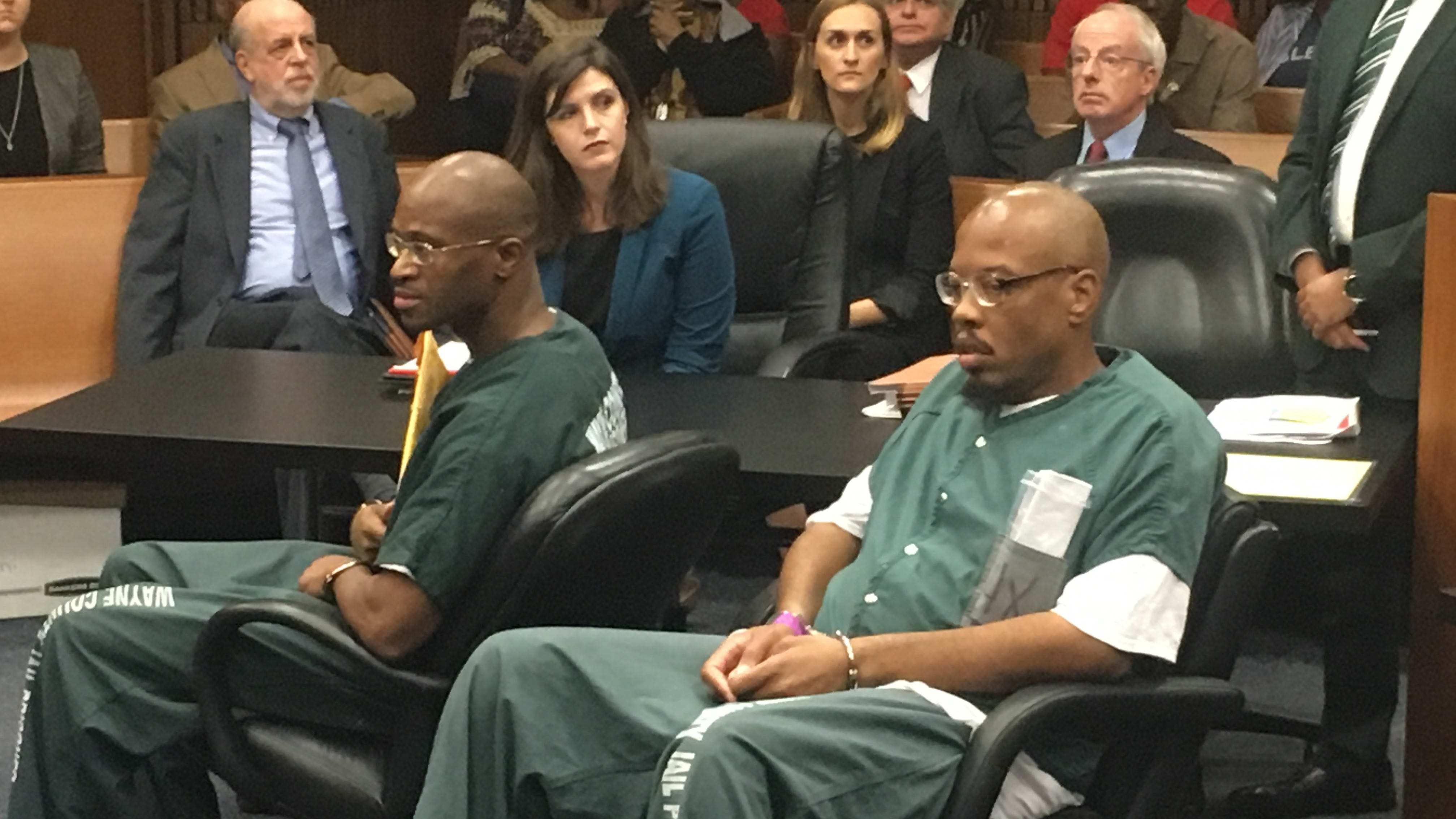 Judge to decide bond for 2 men granted new murder trials