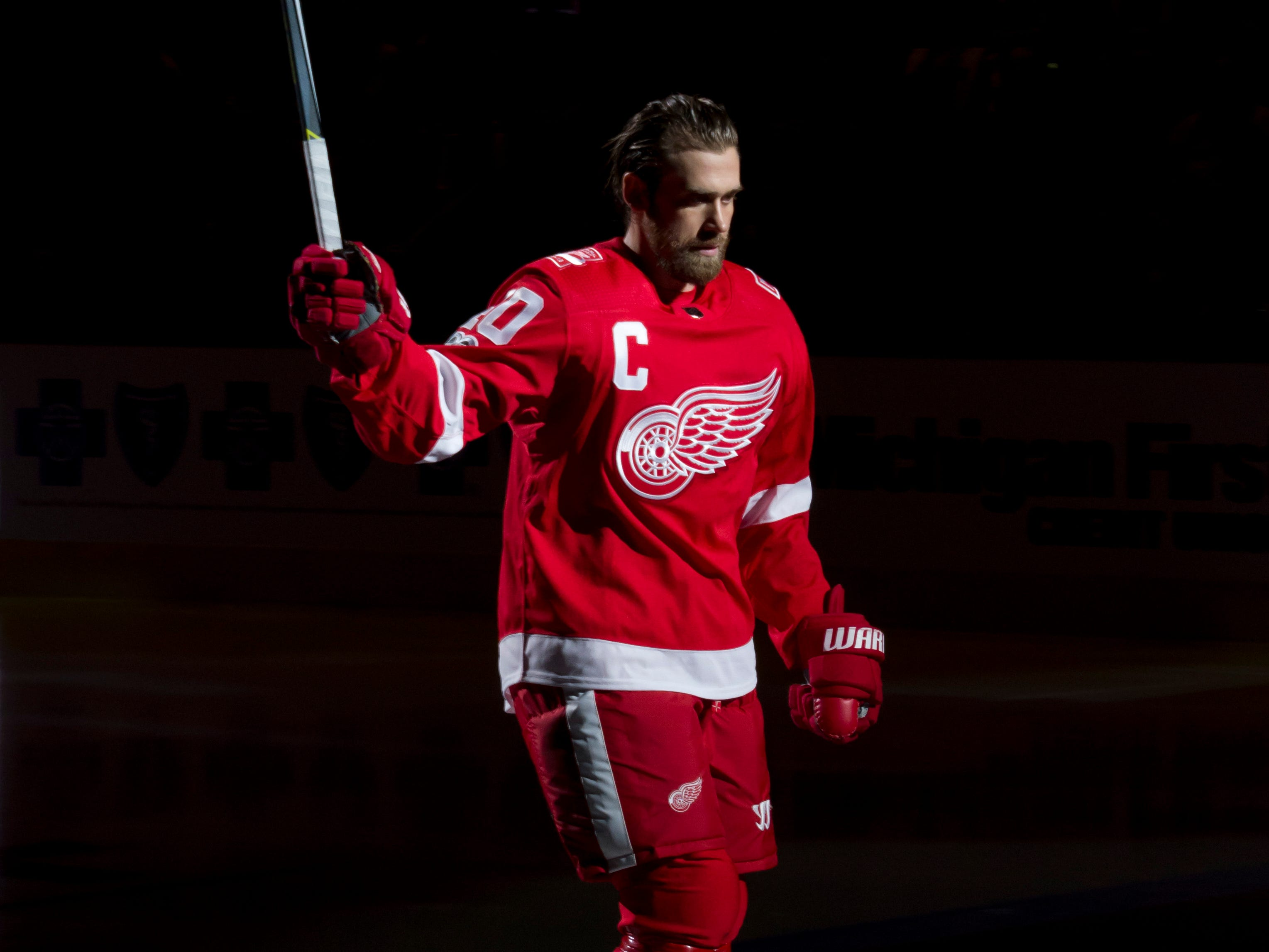 Red Wings captain Henrik Zetterberg retires