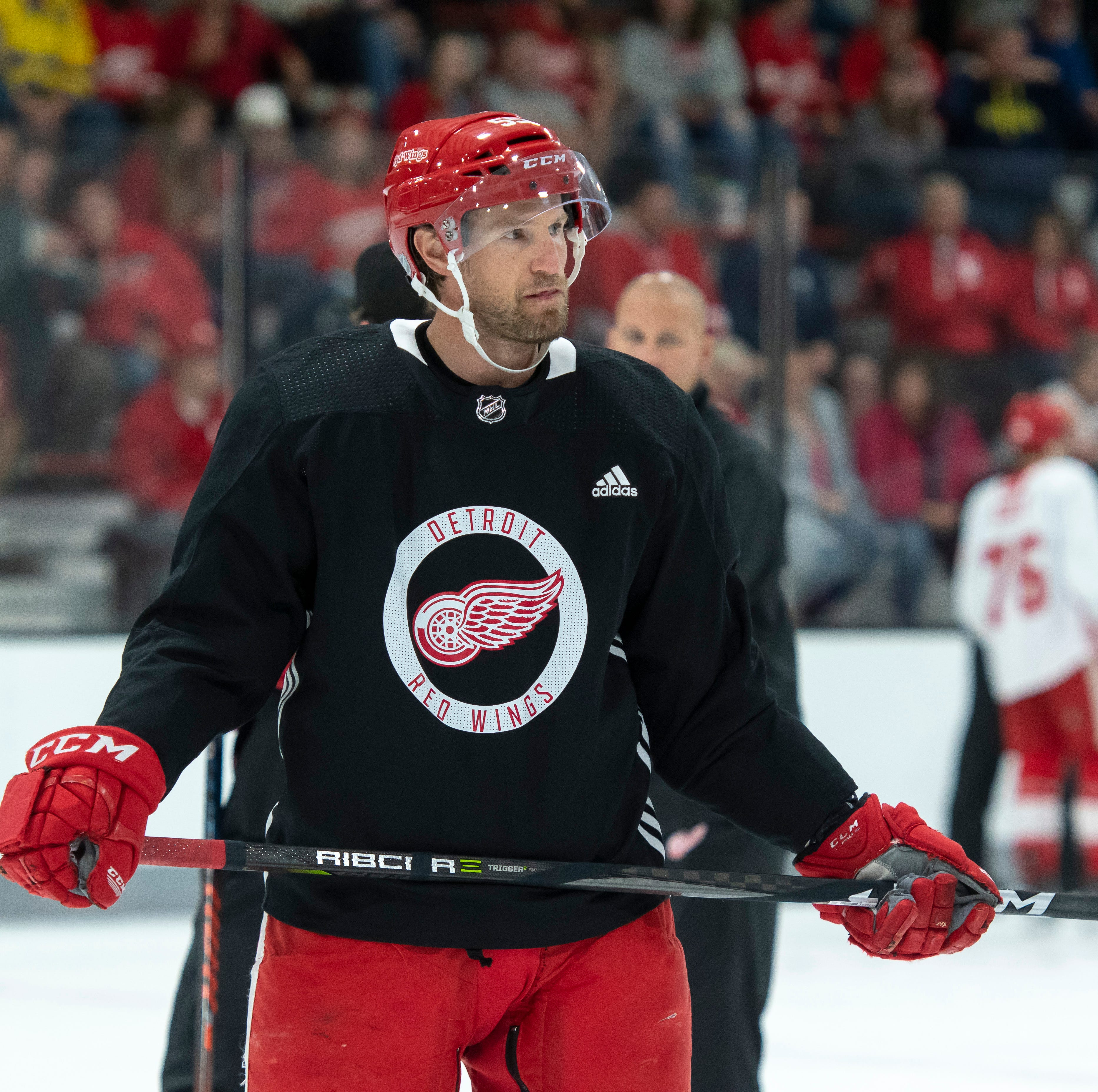 Red Wings' Niklas Kronwall has always led; now it's more important