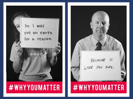 The change follows the high school's 2016-17 #WhyYouMatter campaign