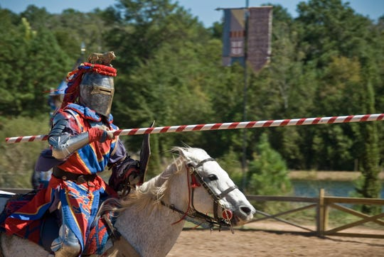 Prepare to be wowed by the Festival's Joust Tournament — an all-time fan favorite.