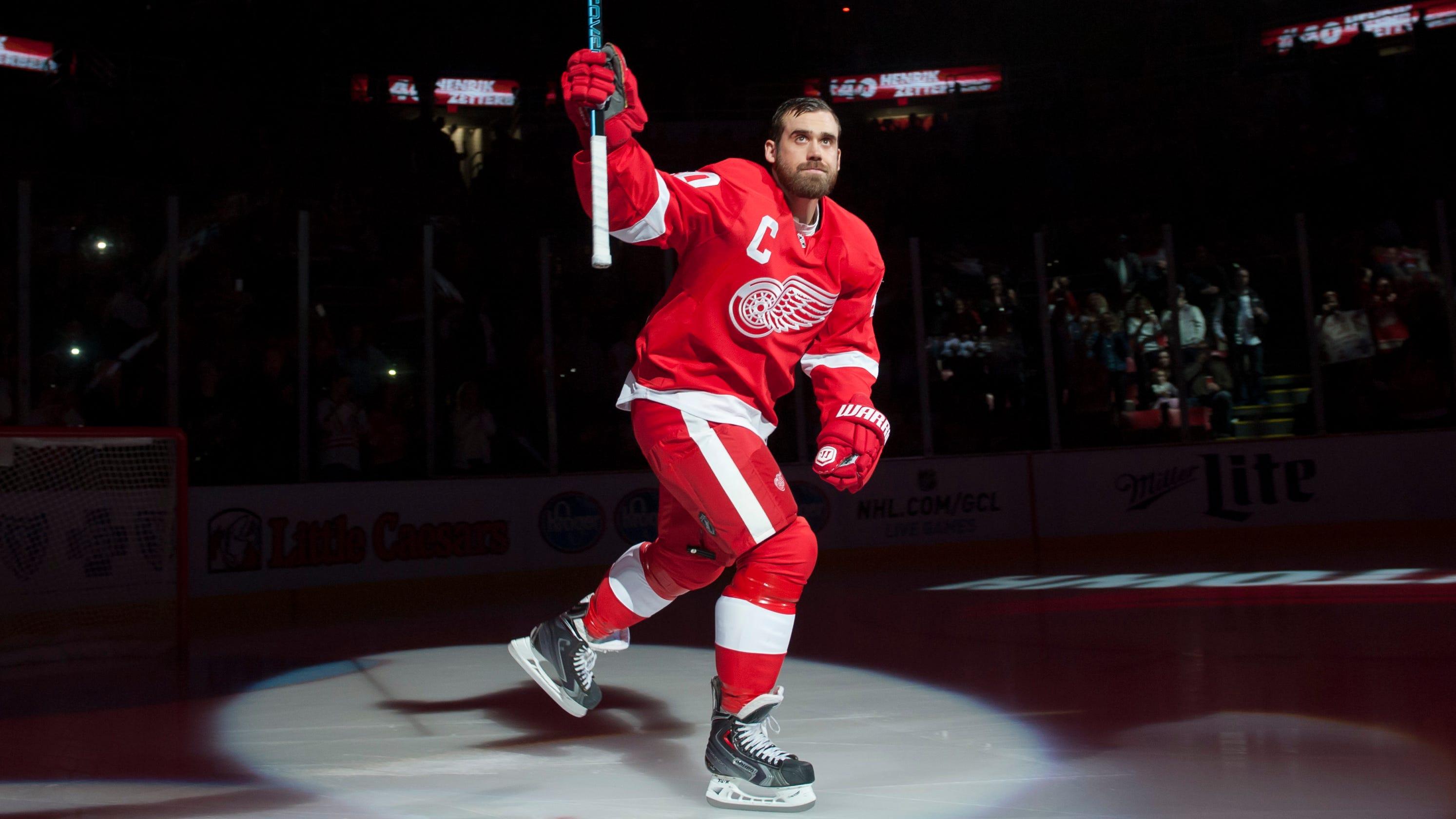 9255cd8dea5 Former Detroit Red Wings star Henrik Zetterberg