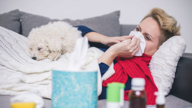 Women with Flu