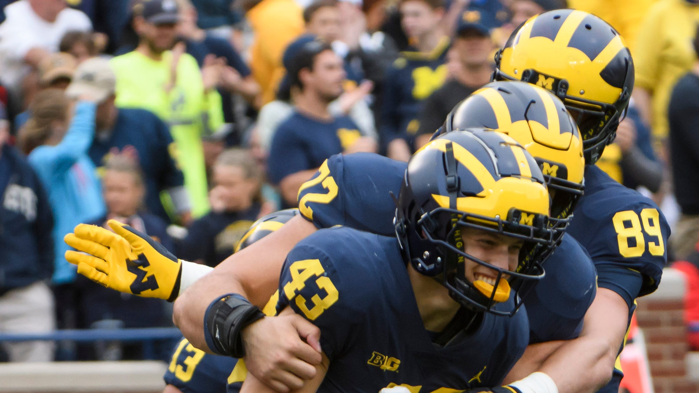 Wojo's Pigskin Picks: Michigan wants no cure for blowout fever