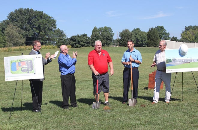 Tim Turpin's Greater Evansville Sports Hall of Fame recently held a groundbreaking ceremony.