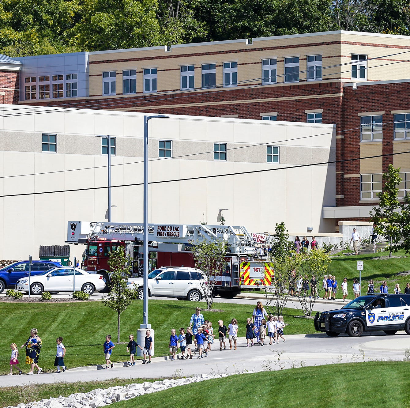 St. Mary's Springs evacuates students after reported gas leak, but it was a false alarm