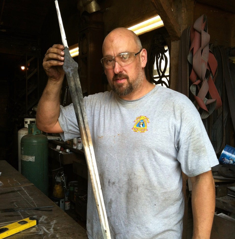 Ex-Bellevue man wins 'Forged in Fire' bladesmith contest