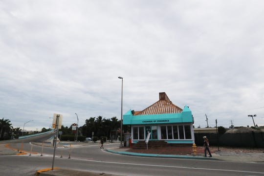 The Fort Myers Beach Chamber of Commerce building a the base of the Matanzas bridge is slated to be torn down. It was formerly Ocean Jewels.