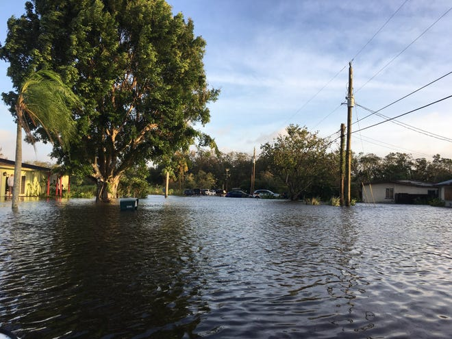 Shady River Land i Buckingham after the severe flooding caused by Hurricane Irma arriving just weeks after an historically severe rainy period.  Now Lee County and its engineering contractors are seeking the public's input on ways to reduce the chance of serious floods in the future.