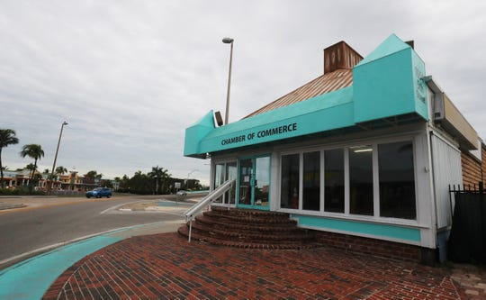The Fort Myers Beach Chamber of Commerce building a the base of the Matanzas bridge is slated to be torn down  It was formerly Ocean Jewels.