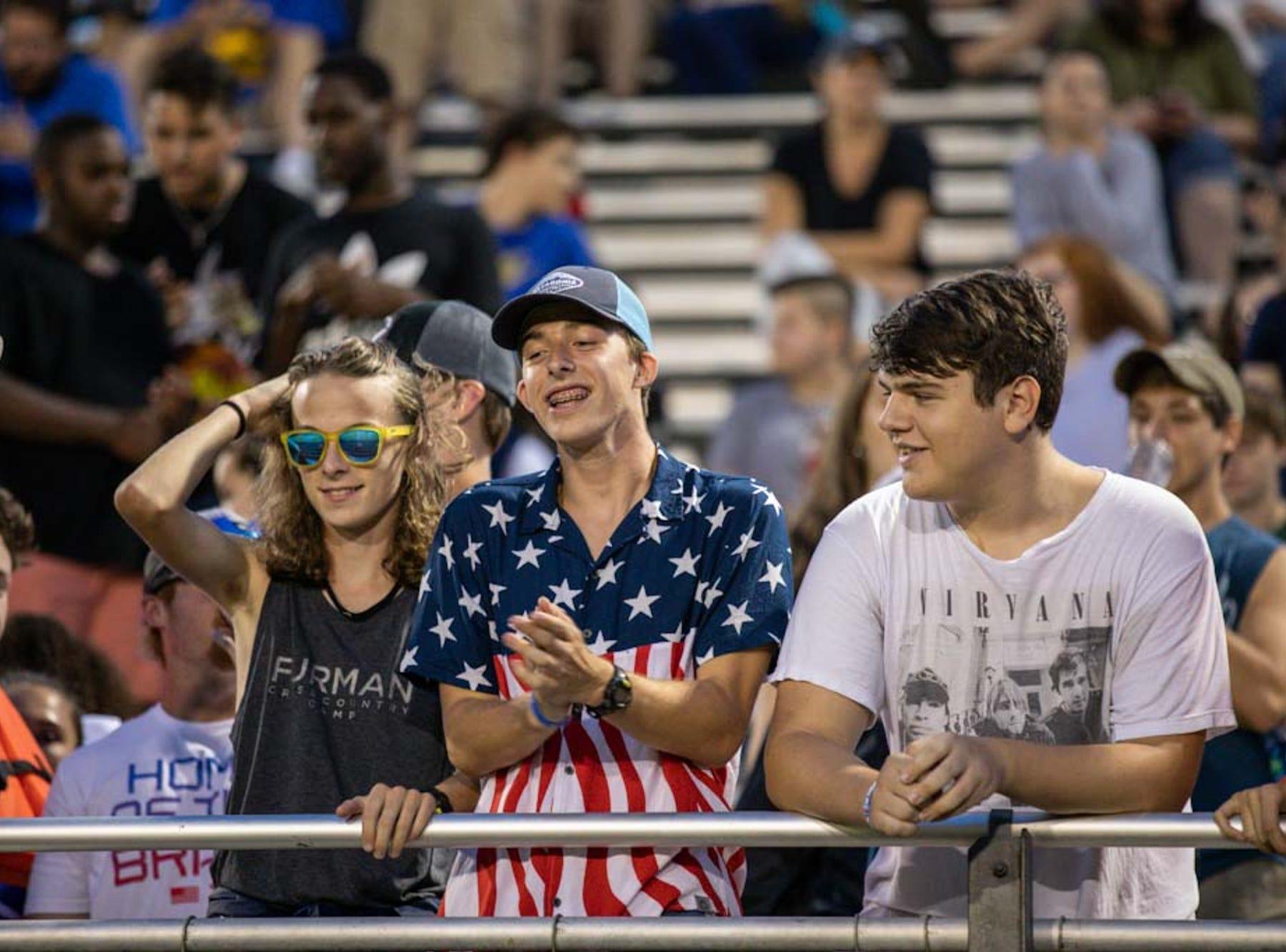 Travelers Rest hosts Blue Ridge Thursday, September 13, 2018 at Travelers Rest's Chico Bolin Stadium.