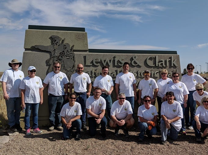 More than 160 Great Falls employees of D.A. Davidson were out in the community this week working on volunteer projects at local nonprofits for the company's second annual D.A. Davidson Day – an event held across the company to partner with the communities where employees live and work.